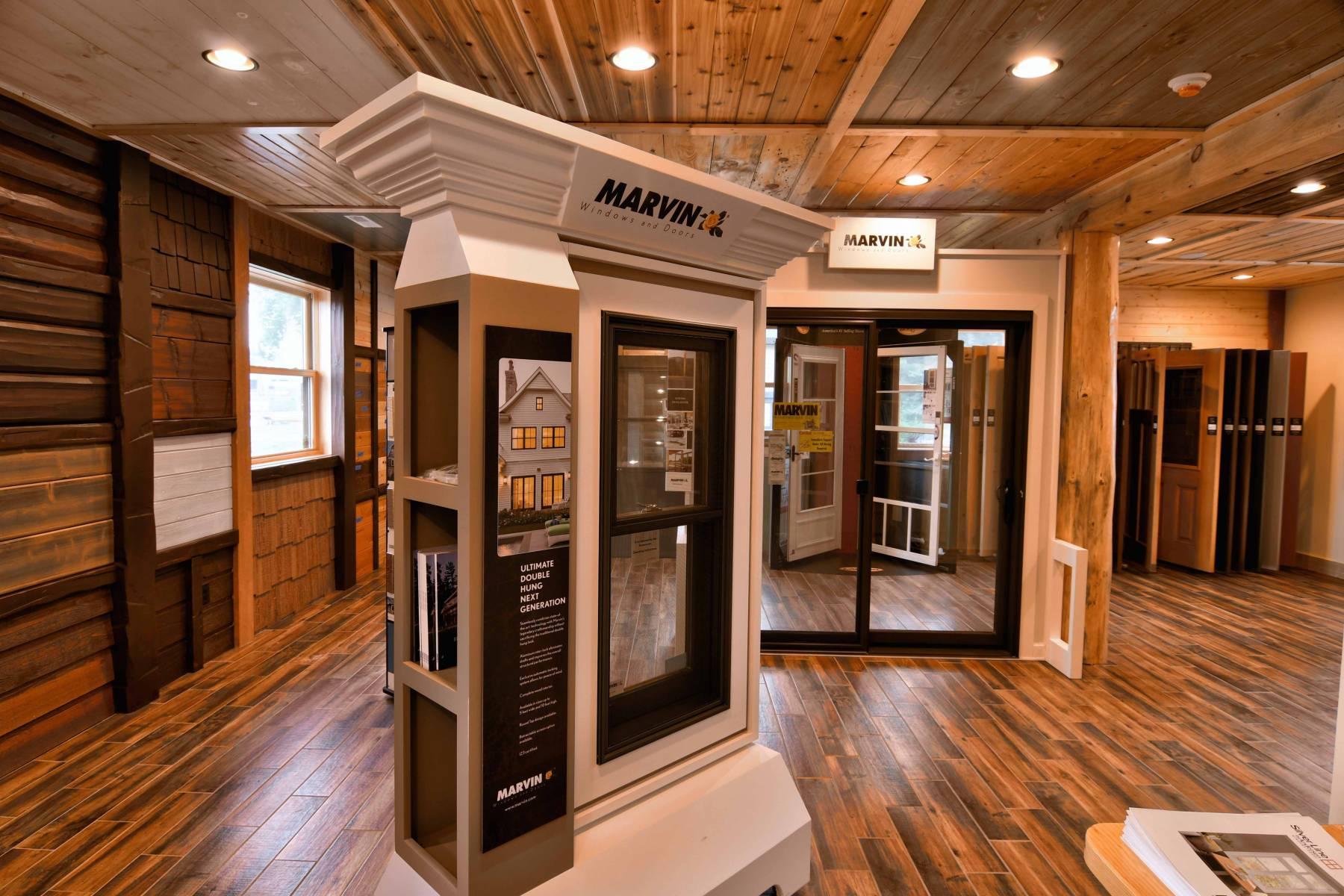 Hayward WI Home Design Center · Showroom Building Materials